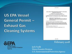 EPA EGCSA February 2018